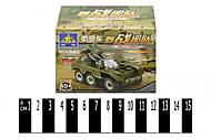 Детский конструктор Brick «Техника военная», 84012, купить