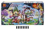 Детский конструктор Fairy «Из жизни фей», 507 деталей, 10414, отзывы