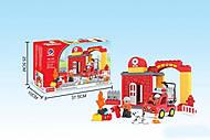 Детский конструктор Fire Station, 188-104, фото