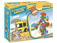 Детский конструктор «Friends on the move», 54300