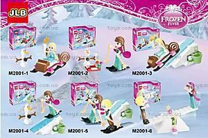 Детский конструктор Frozen «Зимние забавы», 2001-1-6