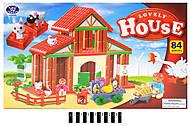 Детский конструктор «Lovely House», 222-H05, фото