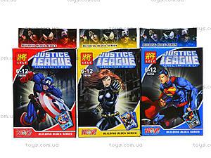 Детский конструктор «Лига справедливости», 78056, магазин игрушек