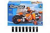 Детский конструктор «Мотоцикл», 118 деталей, 25410, купить