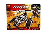 Детский конструктор Ninja, 1135 деталей, 10529, фото
