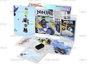 Детский конструктор «Ниндзя на мотоцикле», 9634, фото