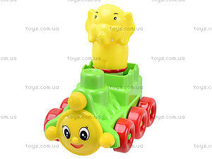 Детский конструктор «Паровоз», 02-406, цена