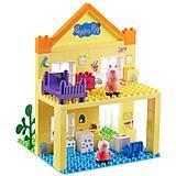 Детский конструктор Peppa «Загородный дом Пеппы», 69 деталей, 06039, отзывы