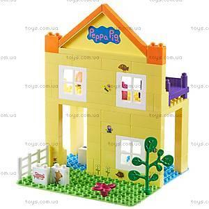 детский конструктор Peppa«Загородный дом Пеппы», 69 деталей, 06039, игрушки