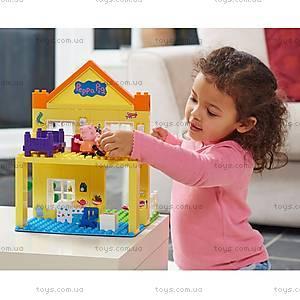 детский конструктор Peppa«Загородный дом Пеппы», 69 деталей, 06039, детские игрушки