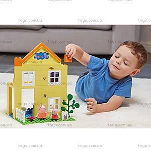 детский конструктор Peppa«Загородный дом Пеппы», 69 деталей, 06039, магазин игрушек
