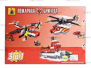 Детский конструктор «Пожарная бригада», 427 деталей, 25712, купить