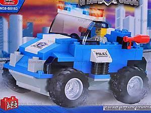 Детский конструктор «Полицейский спецназ», 121 деталь, M38-B0183R