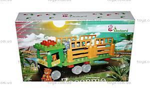 Детский конструктор с крупными деталями «Зооавто», 01388821