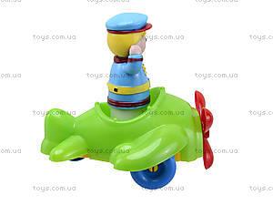 Детский конструктор «Самолет», 02-410, купить