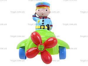 Детский конструктор «Самолет», 02-410, фото