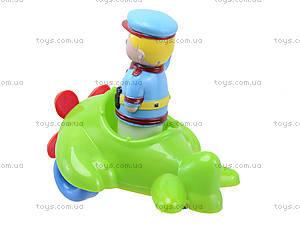 Детский конструктор «Самолет», 02-410, игрушки