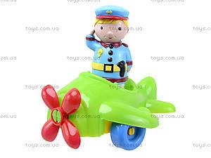 Детский конструктор «Самолет», 02-410, детские игрушки