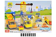 Детский конструктор «Строительная площадка», HG-1334, купить