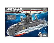 Детский конструктор «Субмарина», 502 детали, 22806, фото