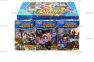 Детский конструктор «Супер герои» от Brick, 78009
