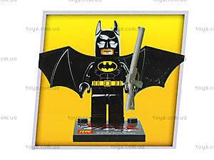 Детский конструктор Super Heroes, 4 вида, 78040, магазин игрушек
