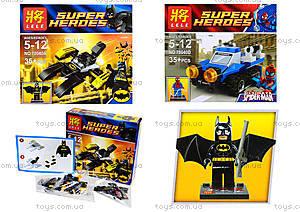 Детский конструктор Super Heroes, 4 вида, 78040, toys.com.ua