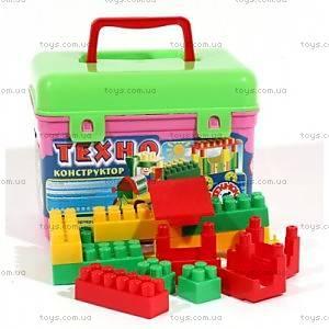 Детский конструктор «Техно Технок», 107 детялей, 3640
