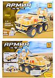 Детский конструктор «Военная техника», 184 детали, 22418, фото