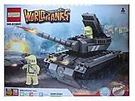 Детский конструктор World of tanks, 268 деталей, 81665
