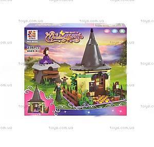 Детский конструктор «Замок колдуньи», 6035