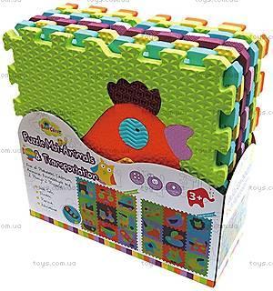 Детский коврик-пазл «Веселый зоопарк», GB-M129А2, купить