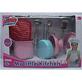 Детский кухонный набор посуды, нержавеющий, S071B, фото