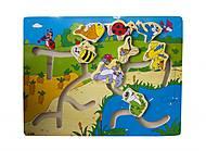 Детский лабиринт - игра «Лужайка», Р54у-1