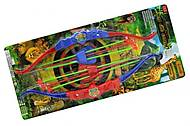 Детский лук со стрелами для двоих, 539-4, купить