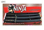 Детский меч серии «Ниндзя», RZ1364, фото