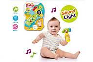 Детский молоточек с музыкой и светом,  на планшетке, 335