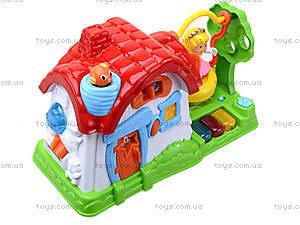 Детский музыкальный домик с куклой, SG-2984, фото