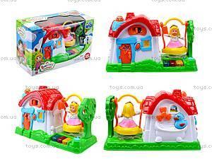 Детский музыкальный домик с куклой, SG-2984