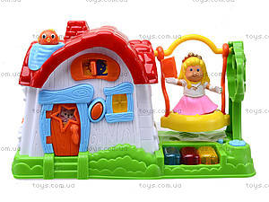 Детский музыкальный домик с куклой, SG-2984, отзывы