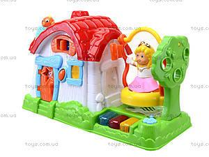 Детский музыкальный домик с куклой, SG-2984, цена