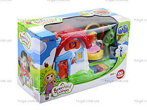 Детский музыкальный домик с куклой, SG-2984, игрушки