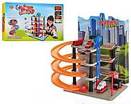 Детский паркинг «Башня-парковка», 0848, игрушки