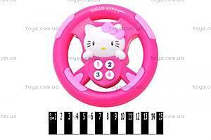 Детский музыкальный руль Hello Kitty, 9086