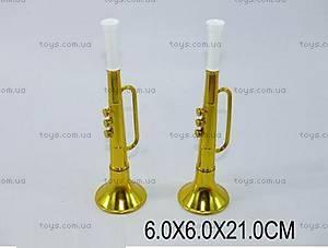Детский музыкальный инструмент «Труба», 2032A