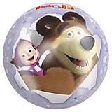 Детский мяч «Маша и Медведь», лицензия, JN57681, тойс