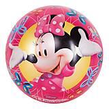 Детский мяч «Минни Маус», 23 см, JN57989