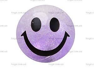 Светящийся мяч-попрыгунчик «Улыбка», BT-JB-0003, цена