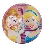 Детский мяч «Принцессы», 23 см, JN57953
