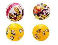 Детский мячик с рисунком, YT136A, оптом